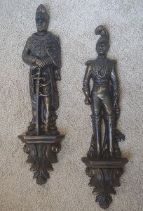 Burwood Products vintage soldier wall hangings